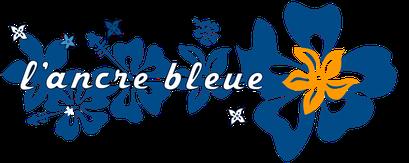 Logo Ancre bleue